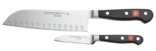 Wusthof Classic 2-Piece Asian Santoku and Paring Knife Set