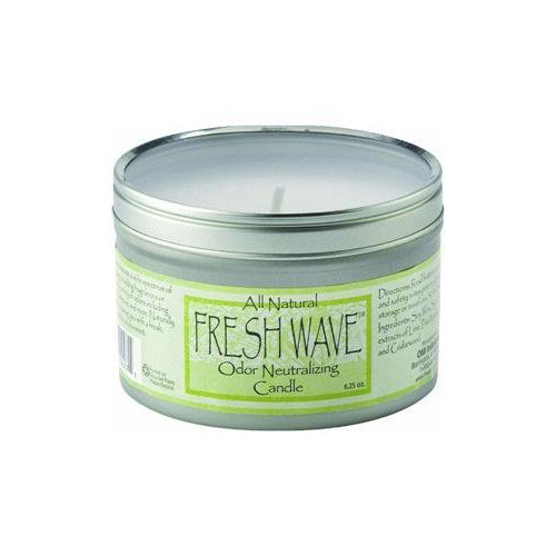 Fresh Wave Odor Neutralizing Soy Candle, 6.25-Ounce