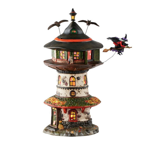Department 56 - Witch Way Home Tower