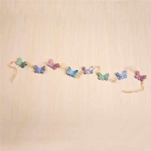 Kelly Rae Roberts - Butterfly Garland - Demdaco Decor