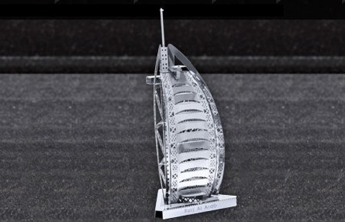 Fascinations Metal Earth Burj al Arab Building 3D Metal Model Kit