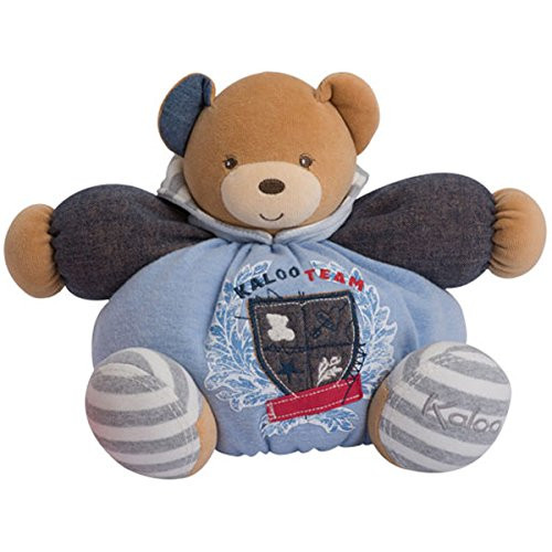 Kaloo Denim Plush Toy, Chubby Bear, Large