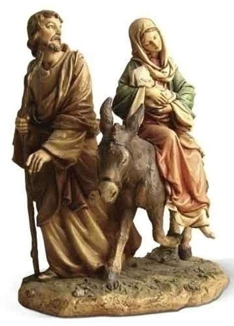 "9"" Flight Into Egypt Fig"
