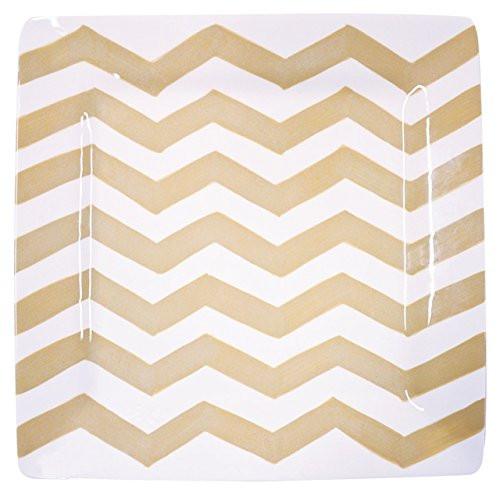 Chevron Square Platter