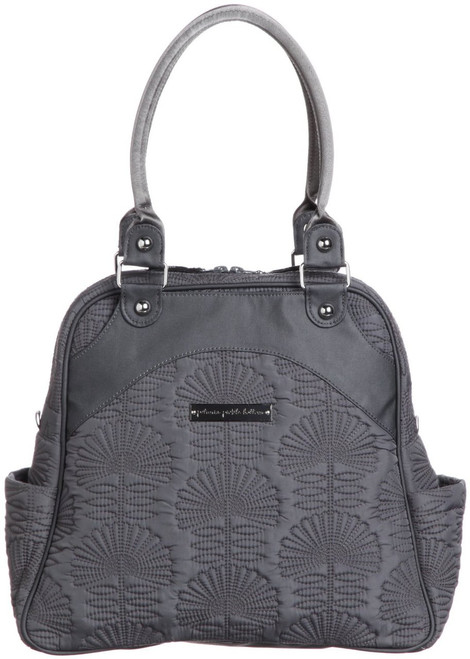 Petunia Pickle Bottoms Sashay Satchel in Champs-Elysees Stop