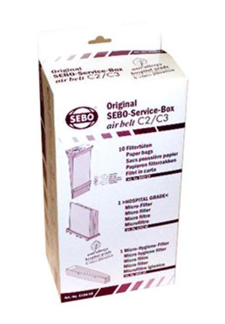 SEBO 6198AM Service Box for C Series Vacuum
