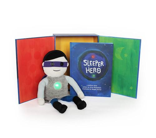SleeperHero Illustrated Storybook + Doll