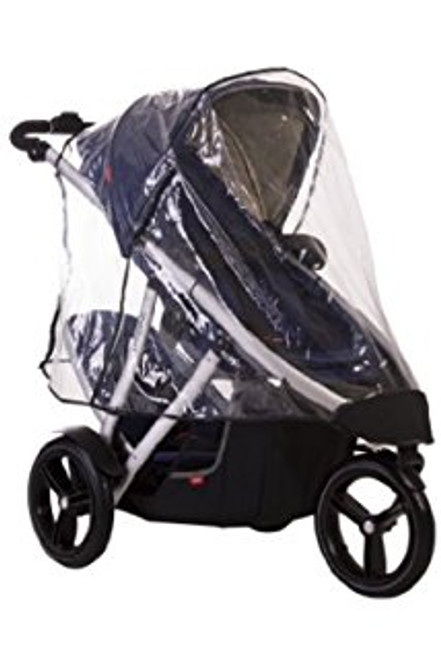 Phil&Teds Stormy Weather Cover For Vibe, Vibe 2 Or Verve Single Stroller (Discontinued by Manufacturer)