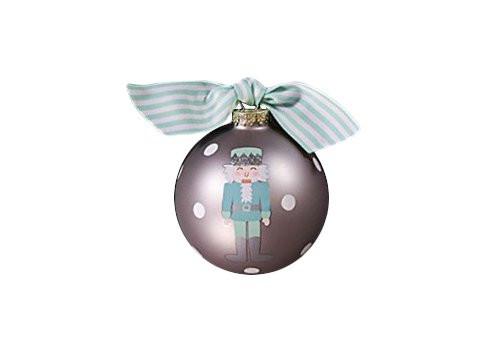 Coton Colors Nutcracker Boy Glass Ornament