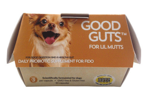 Good Guts by Fidobiotics - Probiotics for Dogs (Lil Mutts)