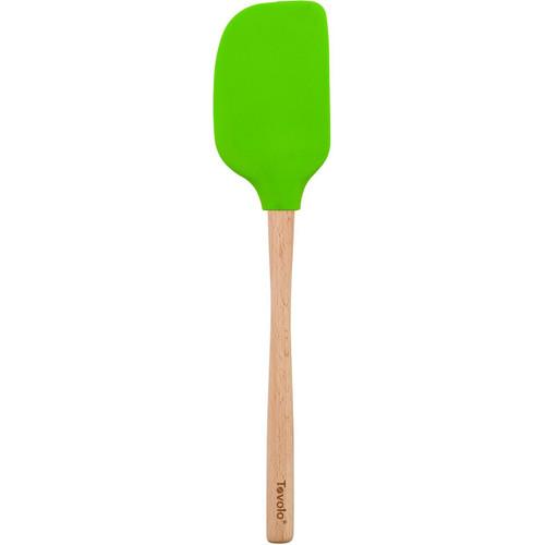 Tovolo Flex-Core Wood Handled Jumbo Spatula - Spring Green