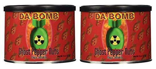 Da Bomb - Ghost Pepper Nuts, 8oz - 2 Pack