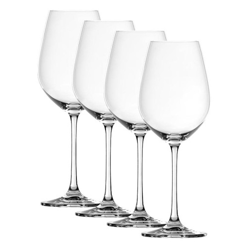 Spiegelau 4720171 Salute Red Wine Glasses (Set of 4), Clear