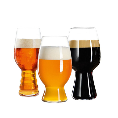 Spiegelau 4991693 Craft Beer Glasses Tasting Kit (Set of 3), Clear
