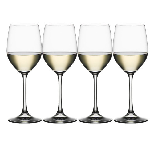 Spiegelau 4510272 Vino Grande White Wine Glasses (Set of 4), Clear
