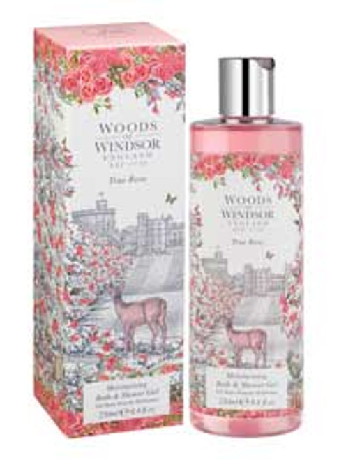 Woods of Windsor True Rose Moisturising Bath & Shower Gel 8.4 fl oz.