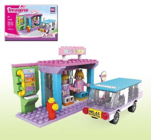 Brictek Imagine Bus Stop Building Kit