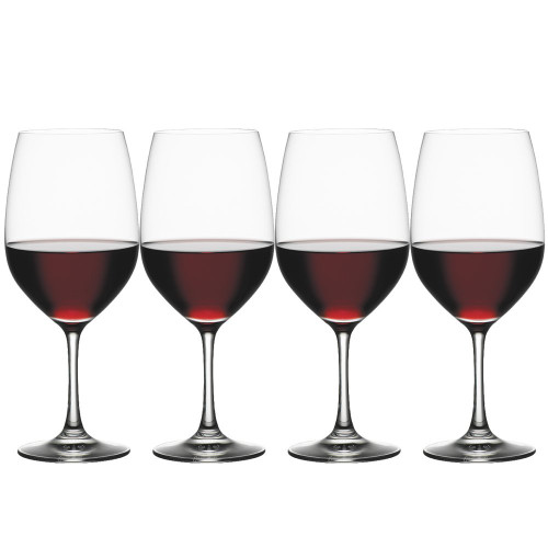 Spiegelau 4510277 Vino Grande Bordeaux Wine Glasses (Set of 4), Clear