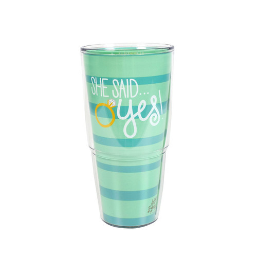Just Engaged 24oz. Tervis Tumbler
