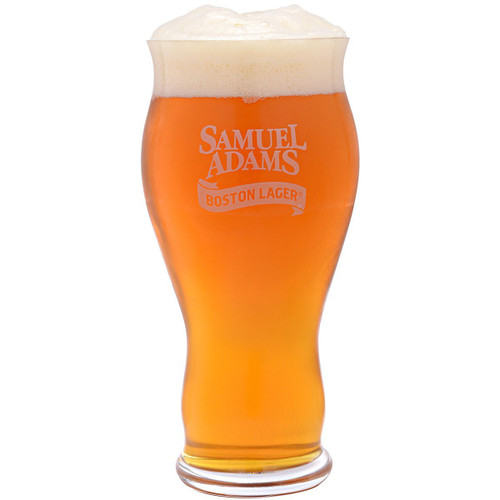 Spiegelau 4992079 Classics Sam Adams Boston Lager Beer Glasses (Set of 4), Clear