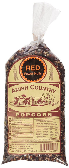 Red Amish Country Popcorn, 1-lb Bag