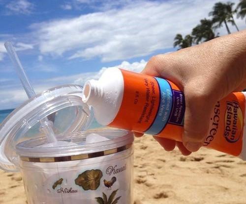 Smuggle Your Booze Sun Sunscreen Lotion