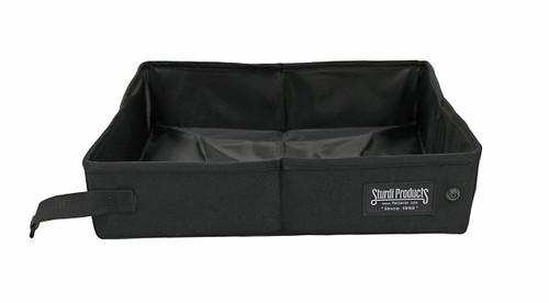 Sturdi Foldable Water Tight Box, 2-Gallon, Black
