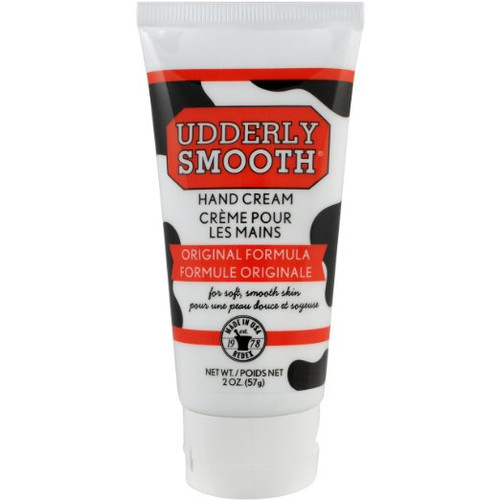 Udderly Smooth Udder Cream, Skin Moisturizer, 2 Ounce Tube