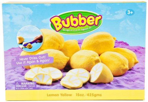 Bubber 21 oz Box Yellow