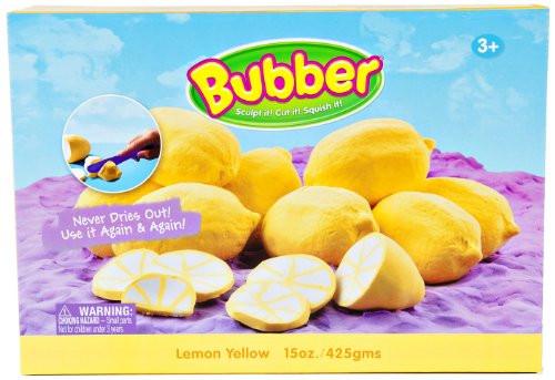Bubber 21 oz Box Yellow