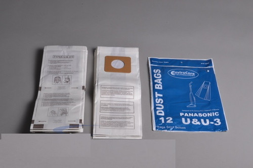 Panasonic Type U / U3 Vacuum Bags Standard Filtration