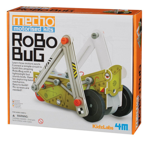 4M KidzLabs Robo Bug Mecho Motorized Kit