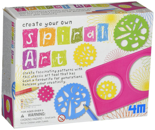 4M Create Your Own Spiral Art Set