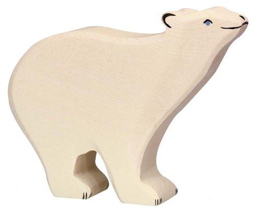 Holztiger Wooden Polar Bear