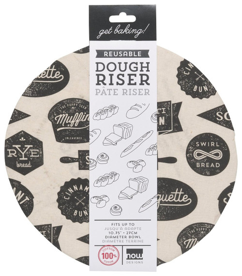 Now Designs Dough Riser Bowl Cover, Bakeshop