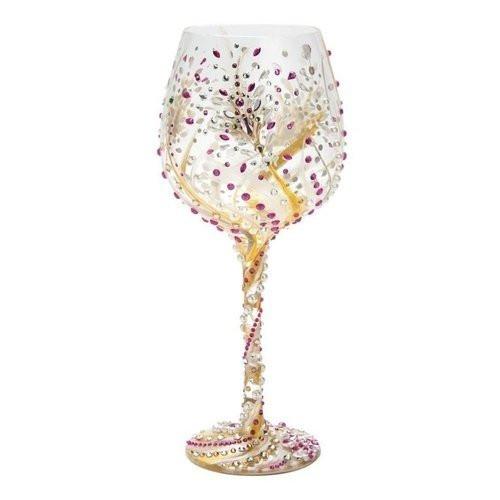Santa Barbara Design Studio Lolita Collection 10th Anniversary Super Bling Wine Glass