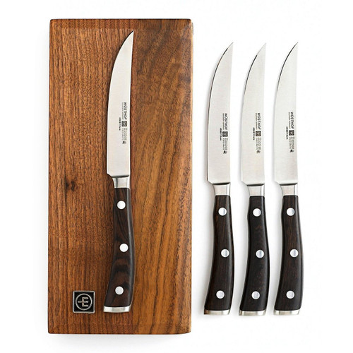 Wusthof Ikon 4-Piece Steak Set