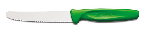Wusthof Utility Knife - Serrated - Green