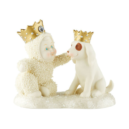 Department 56  Snowbabies Snow Dream Collection Royal Friends Figurine