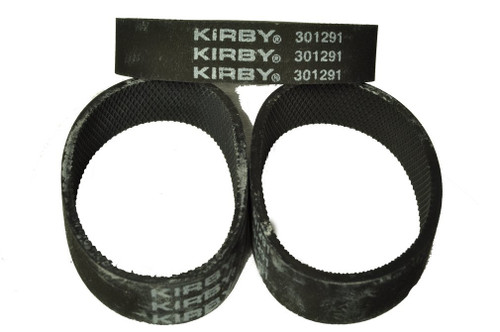 Kirby Ribbed Vacuum Cleaner Belt, Fits: all Kirby upright vacuum cleaners 1960 to present, Kirby Number on belt 301291