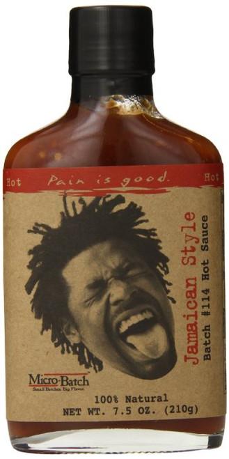 Pain Is Good Jamaican Style Hot Sauce, 8 Ounce