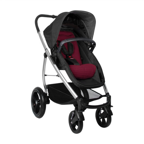 phil&teds Smart Lux Stroller, Ruby