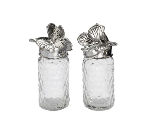 Arthur Court Designs Butterfly Salt & Pepper Set