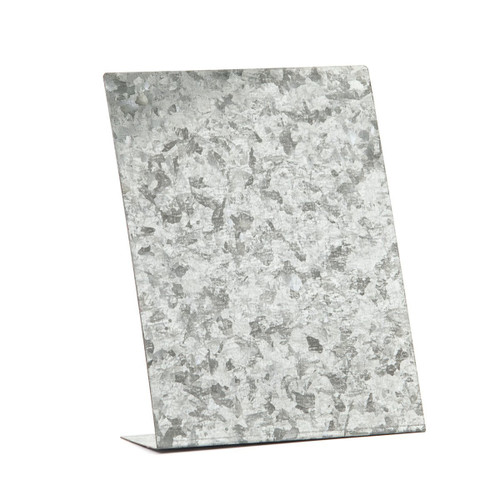 Embellish Your Story Galvanized Free Standing Magnetic Memo Board. - Embellish Your Story Roeda 100840-EMB by Embellish