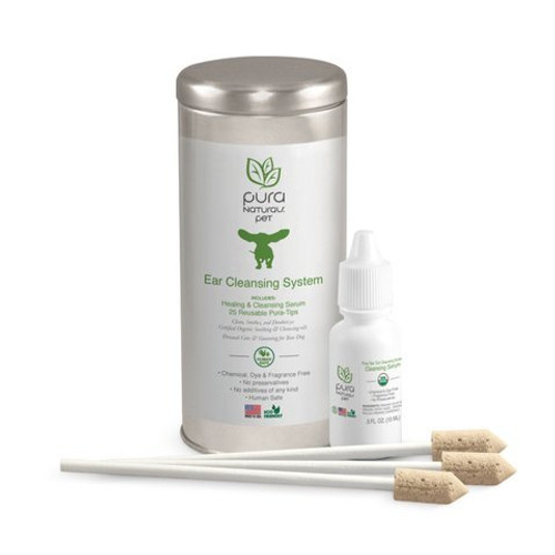 Pura Naturals Pet Pura Tips Ear Cleansing System
