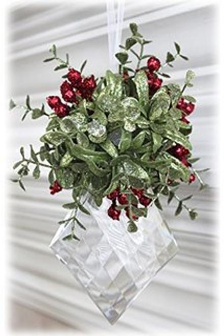 Christmas Mistletoe Acrylic Kissing Krystal (Styles Vary)