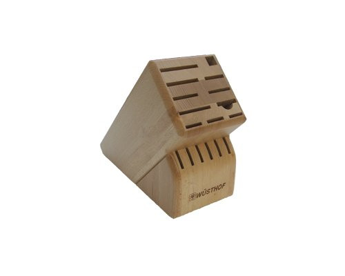 Wusthof 17 Slot Beechwood Knife Block