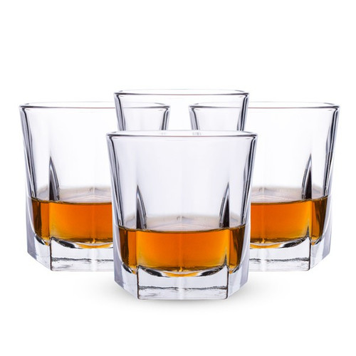 Libbey 5481S4 4-Piece Perfect Rye 9-Ounce Glass