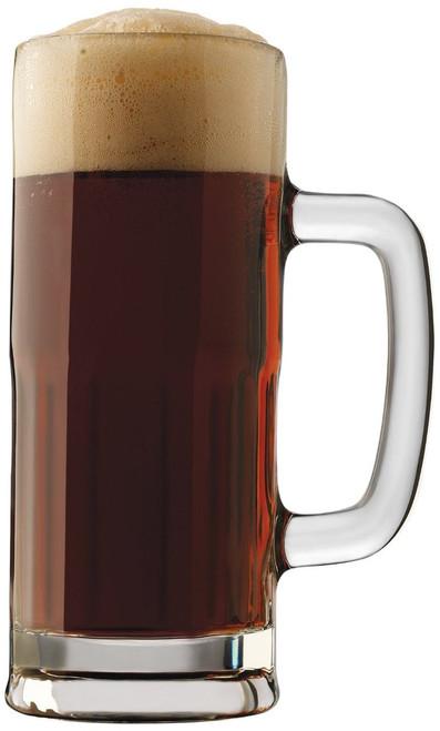 Libbey Craft Brews 22-Ounce Clear Lager Stein Mug Set, 4-Piece