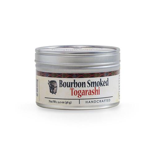 Bourbon Smoked Togarashi, 2oz Tin